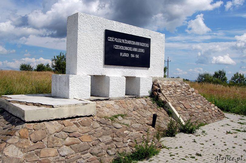 Pomnik Żołnierzy Armii Radzieckiej i Czechosłowackiej Armii Ludowej w Teodorówce